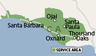 Our California Service Area